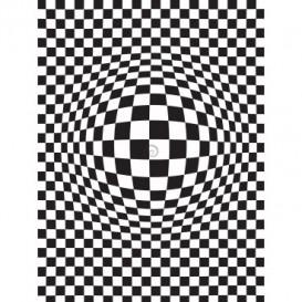 Fototapeta panel - PL0357 - Abstraktná 3D šachovnica