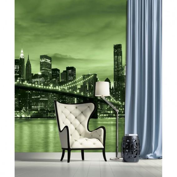 Fototapeta panel - PL0374 - Zelený New York