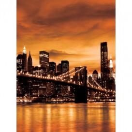 Fototapeta panel - PL0377 - Oranžový New York
