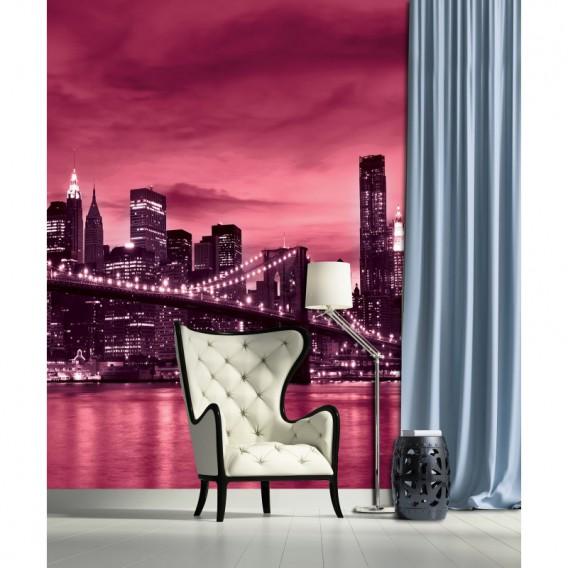 Fototapeta panel - PL0383 - Ružový New York