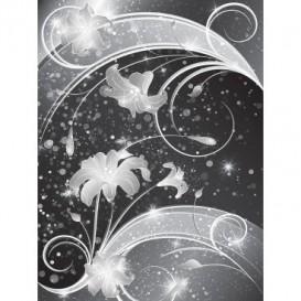 Fototapeta panel - PL0398 - Čiernobiely ornament