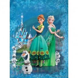 Fototapeta panel - PL0596 - Ľadové kráľovstve - Elsa a Anna