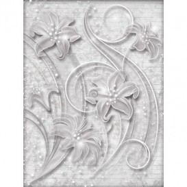 Fototapeta panel - PL0395 - Sivý ornament