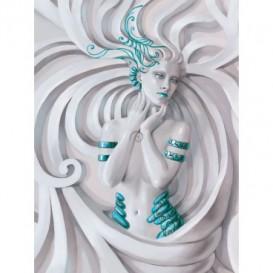 Fototapeta panel - PL0621 - 3D žena
