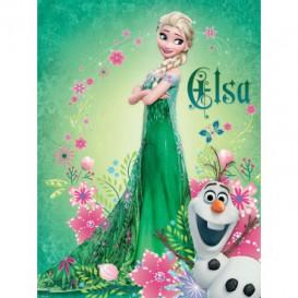 Fototapeta panel - PL0654 - Frozen Elsa a Olaf