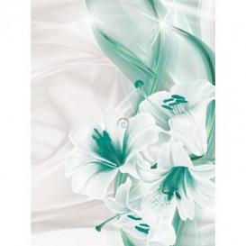 Fototapeta panel - PL0716 - Tyrkysové kvety