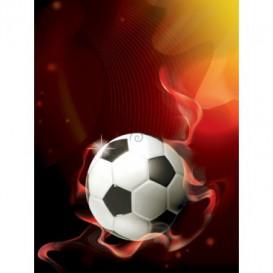 Fototapeta panel - PL0773 - 3D futbalová lopta