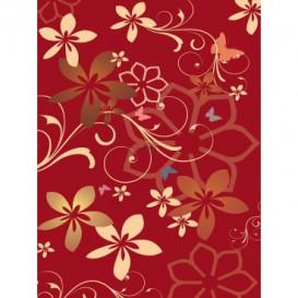 Fototapeta panel - PL0880 - Kreslené kvety