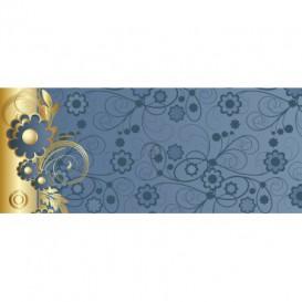 Panoramatická fototapeta - FT2196 - Modro zlatý ornament