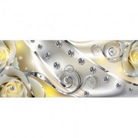 Panoramatická fototapeta - FT3152 - Žlté ruže