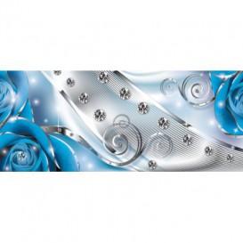 Panoramatická fototapeta - FT3155 - Modré ruže