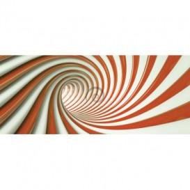 Panoramatická fototapeta - FT3759 - Oranžový tunel