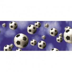 Panoramatická fototapeta - PA0042 - Futbalové lopty