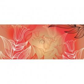 Panoramatická fototapeta - PA0051 - Farebné kvety
