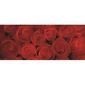 Panoramatická fototapeta - PA0069 - Červené ruže