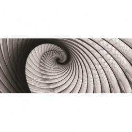 Panoramatická fototapeta - PA0094 - Čiernobiely twister