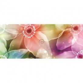 Panoramatická fototapeta - PA0119 - Farebné kvety
