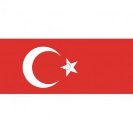 Panoramatická fototapeta - PA0136 - Turecká vlajka