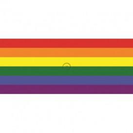 Panoramatická fototapeta - PA0137 - Dúhová vlajka