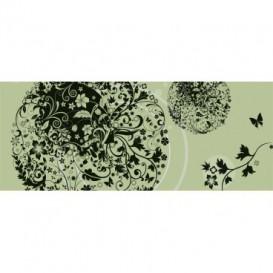 Panoramatická fototapeta - PA0189 - Ornamenty listov