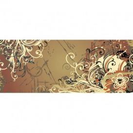 Panoramatická fototapeta - PA0191 - Kreslené kvety