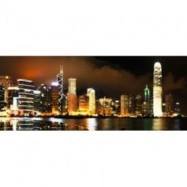Panoramatická fototapeta - PA0199 - Mesto v noci