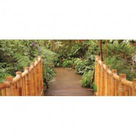 Panoramatická fototapeta - PA0041 - Most do záhrady