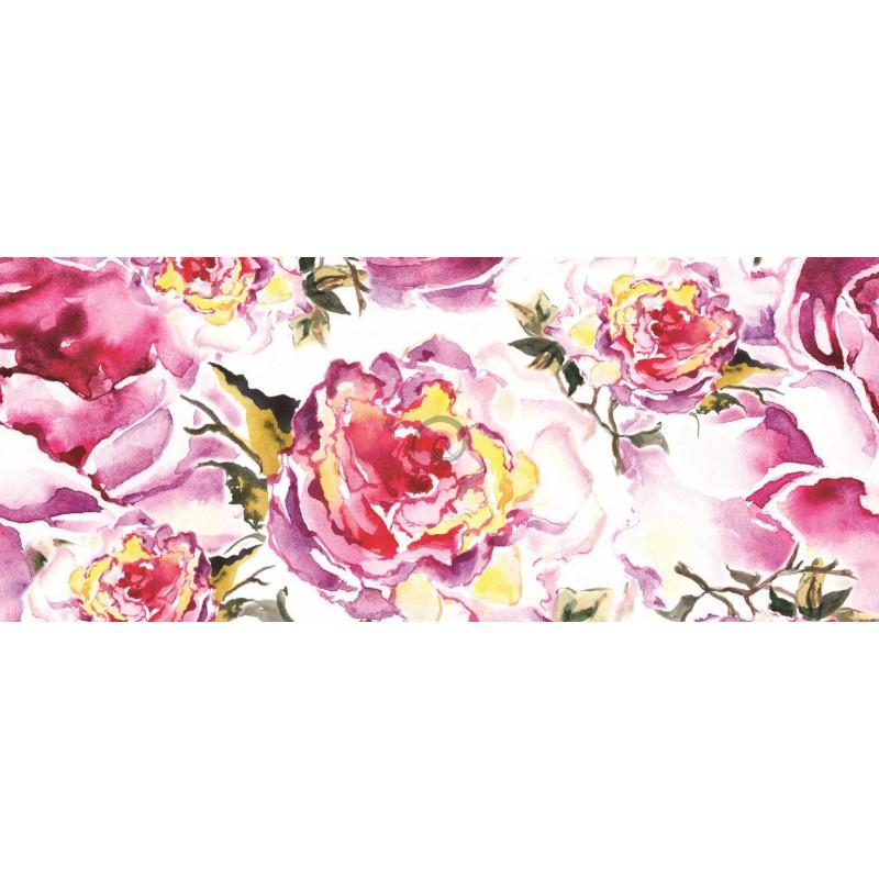 Panoramaticka Fototapeta Pa0249 Kreslene Kvety Preinterier Sk