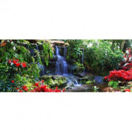 Panoramatická fototapeta - PA0252 - Zelená záhrada