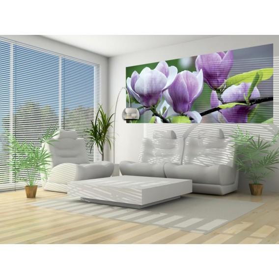 Panoramatická fototapeta - PA0268 - Fialový kvet