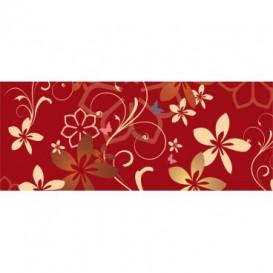 Panoramatická fototapeta - PA0274 - Kreslené kvety
