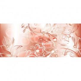Panoramatická fototapeta - PA0311 - Kreslené kvety