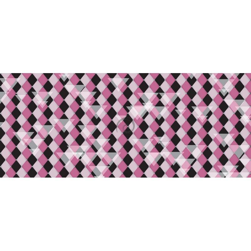 98e0f2f49 Panoramatická fototapeta - PA4062 - Šachovnicový vzor – ružový ...