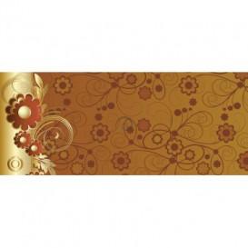 Panoramatická fototapeta - PA4106 - Hnedo zlatý ornament