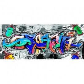 Panoramatická fototapeta - PA4145 - Grafity