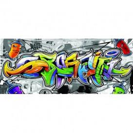 Panoramatická fototapeta - PA4146 - Grafity