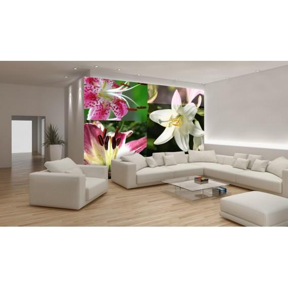 Fototapeta na stenu - FT0132 - Mozaika kvetov