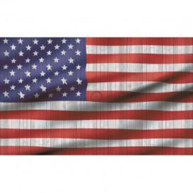 Fototapeta na stenu - FT2695 - Americká vlajka