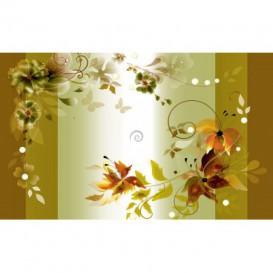 Fototapeta na stenu - FT2406 - Olivový kvetovaný motív