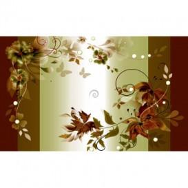 Fototapeta na stenu - FT2407 - Olivový kvetovaný motív