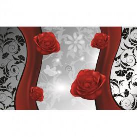 Fototapeta na stenu - FT2417 - Červená ruža