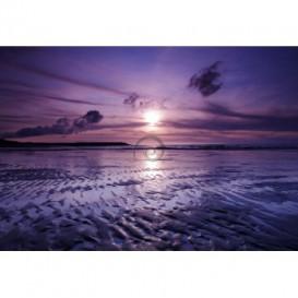 Fototapeta na stenu - FT0024 - Fialový západ slnka