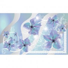 Fototapeta na stenu - FT2424 - Bledomodré kvety