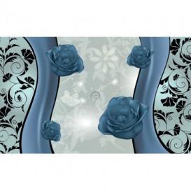 Fototapeta na stenu - FT2432 - Sivé ruže