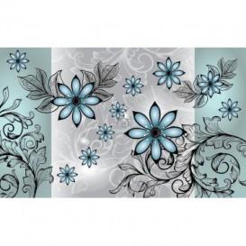 Fototapeta na stenu - FT2436 - Modré kvety