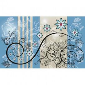 Fototapeta na stenu - FT3632 - Modrý ornament