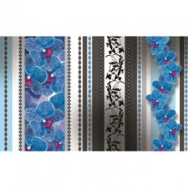 Fototapeta na stenu - FT2877 - Kvetovaný ornament – nebeské kvety