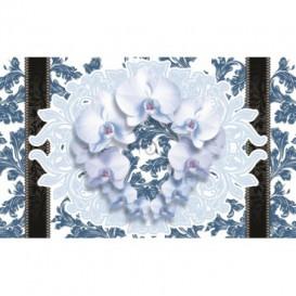 Fototapeta na stenu - FT2904 - Kytica kvetov – modrá