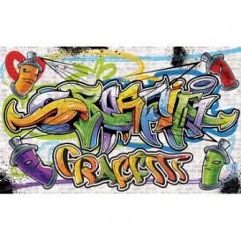 Fototapeta na zeď - FT2027 - Graffiti - originální styl street