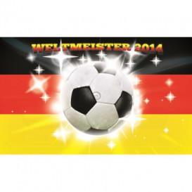 Fototapeta na stenu - FT3514 - Nemecká vlajka – Futbalová lopta